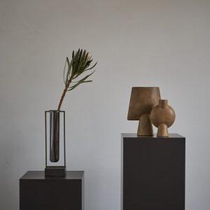 Sphere Vase Bubl Mini Ocher
