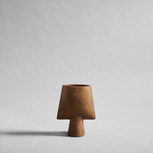 Sphere Vase Square Mini Ocher