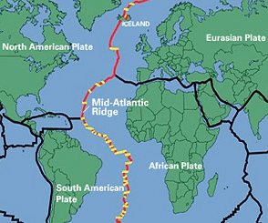 Mid-Atlantic ridge
